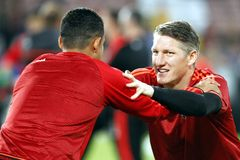 Bastian Schweinsteiger Manchester Unied Royalty Free Stock Photography