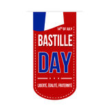 Bastille day banner design Royalty Free Stock Photography