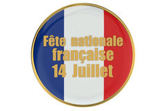 Bastille Day - The French National Day Stock Photo