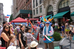 Bastille Day NYC 2015 13 Royalty Free Stock Images