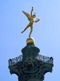 Bastille de La de Statue du Génie De Photo libre de droits