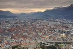 Bastille Grenoble de La Images stock