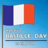 Bastille jour 14 juillet Photo stock