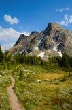 Bastille Mountain on the Jumbo Pass Hike Royalty Free Stock Photo
