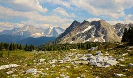 Bastille Mountain landscape Jumbo Pass British Columbia Royalty Free Stock Photo