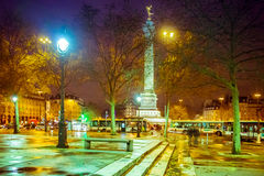 bastille Paris kwadrat obraz stock