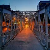 bastille Paris noc Uliczna fotografii urbanart ulicy sztuka zdjęcie stock