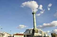 Bastille square in Paris Royalty Free Stock Photo