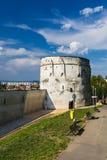 Bastion av den Brasov fästningen, Rumänien Royaltyfri Bild