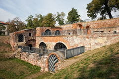 Bastion Ceglarski Ruins in Wroclaw. Poland, part of old city fortifications dating back to 1585 Royalty Free Stock Photography