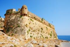 Bastion cytadela Fortezza w Rethymno, Grecja obrazy royalty free