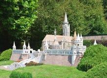 Bastion de Fishermens, Budapest, Hongrie Klagenfurt Parc miniature photographie stock libre de droits
