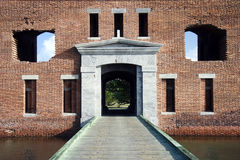 Bastion de Jefferon de fort Photos libres de droits