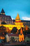 Bastion de pêcheur à Budapest, Hongrie Photos libres de droits