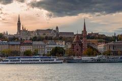 Bastion för fiskare` s, Budapest, Ungern arkivfoto