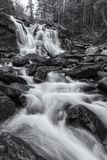 Bastion Falls and Spruce Creek Stock Photography