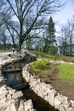 Bastion Hill Park in central Riga Royalty Free Stock Photo