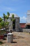 Bastion i fortet San Pedro Royaltyfri Fotografi