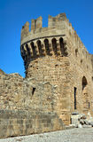 Bastion of the medieval Castle of the Knights Royalty Free Stock Photography