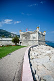 Bastion in Menton Stock Images