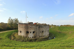 Bastion in Muiden Holland Royalty Free Stock Photo