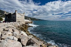 Bastion Museum of Menton. Stock Photography