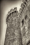 Bastion of The Odescalchi Castle in Bracciano Royalty Free Stock Images