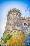 Bastion of The Odescalchi Castle in Bracciano Royalty Free Stock Photography