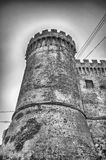 Bastion of The Odescalchi Castle in Bracciano Royalty Free Stock Photos