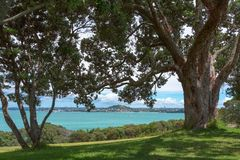 Bastion Point, Auckland, New Zealand royalty free stock photos