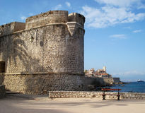 Bastion Saint Andre on Promenade of the Admiral de Grass Stock Photography