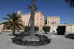 Bastion Saint Remy,Cagliari, Sardegna island, Italy. Cityscape, Bastion Saint Remy,Cagliari, Sardegna island, Italy royalty free stock photos