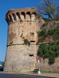 Bastion in San Gimignano, Italy Stock Image