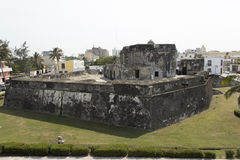 Bastion of Santiago in Veracruz Stock Photo