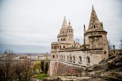 Bastion Spires on Old Castle Hill Stock Images