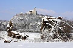 bastion tchèque de republik de montagne de kuneticka photo stock