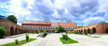 Bastion Theresia Timisoara royaltyfri foto