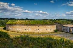 Bastion unique de fortification. Images libres de droits