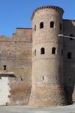 Bastion w otaczających ścianach Rzym Zdjęcia Royalty Free