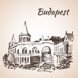 bastionbudapest fiskare hungary s stock illustrationer
