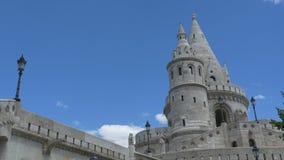 Bastione del pescatore a Budapest archivi video