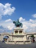 Bastione del pescatore - Budapest, Ungheria fotografia stock libera da diritti