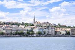 Bastione del pescatore a Budapest, Ungheria fotografia stock libera da diritti