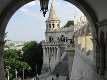 Bastione del ` s di Fisher, Budapest Fotografie Stock