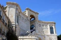 Bastione di Saint Remy, Cagliari, Sardinia, Italy. Bastione di Saint Remy Bastion of Saint Remy, Quartiere Castello, Cagliari, Sardinia, Italy stock photos