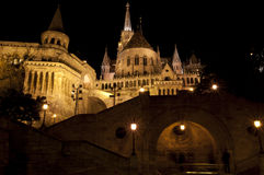 Bastione vecchio a Budapest Immagini Stock