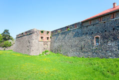 Bastions of Uzhhorod Castle (Ukraine) Stock Images