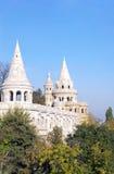 bastionu Budapest połów Obrazy Royalty Free