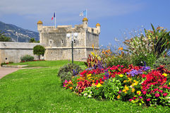 bastionu France menton Fotografia Stock