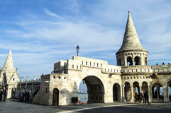 bastionu rybaka Obraz Stock